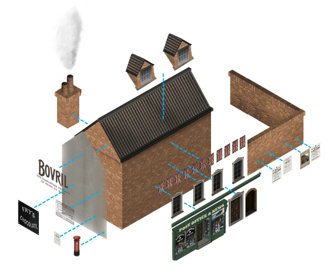 Image showing a visual breakdown of the elements of a building in Great Wharton