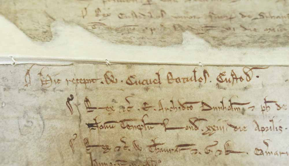 Image of a section of the close roll mentioning the name W Cucuel