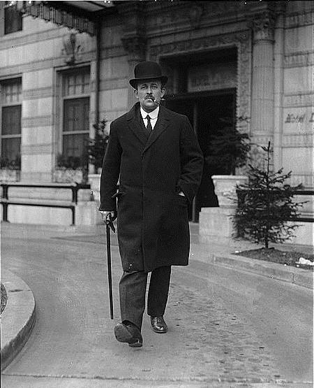 Sir Maurice Hankey, 1921 (Library of Congress)