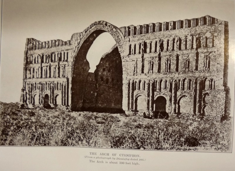 Image of a photograph of the Arch at Ctesiphon