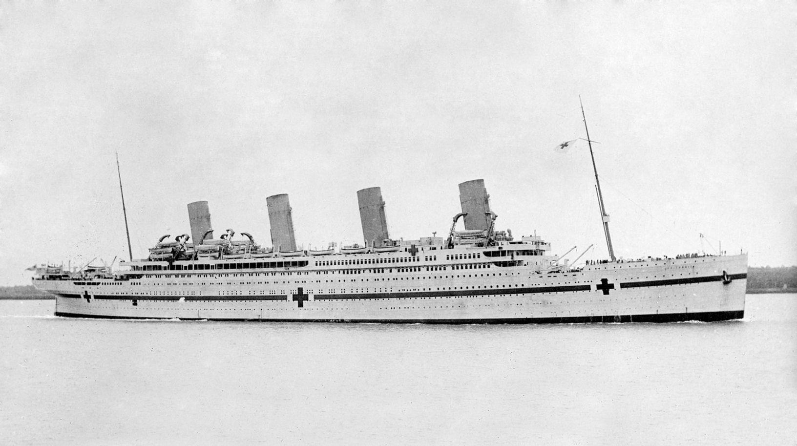 Hospital Ship Britannic. Courtesy of Wikimedia Commons