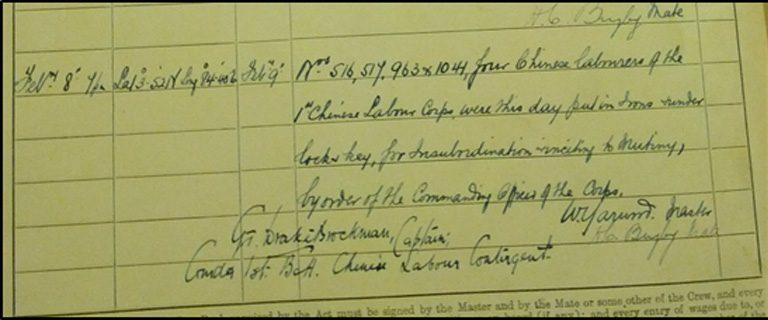 """BT 165/1663 - Ships' Official Logs """"Teucer"""""""