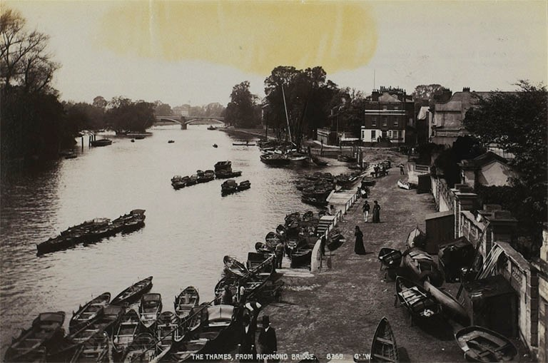 The Thames from Richmond Bridge, 1900