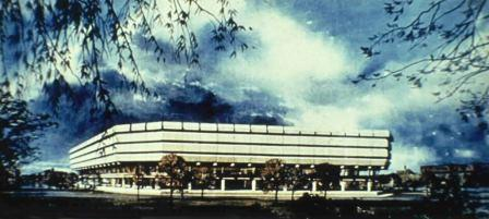 PRO 62/3: Artist's impression of the PRO Building at Kew