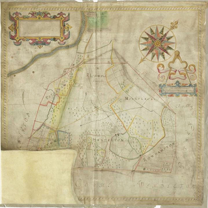An early 17th-century plan of Richmond Park