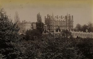 Photograph of the Star and Garter Hotel, 1888