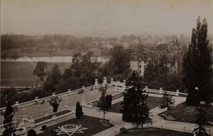 View from the Star and Garter Hotel, 1888