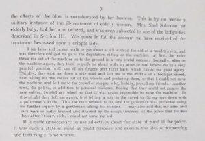 MEPO 3/203 Billinghurst's account of her treatment on Black Friday