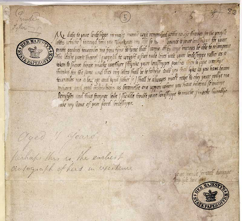 Lady Jane Grey S Correspondence The National Archives Blog