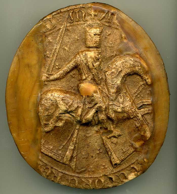 Great seal of Alexander III.