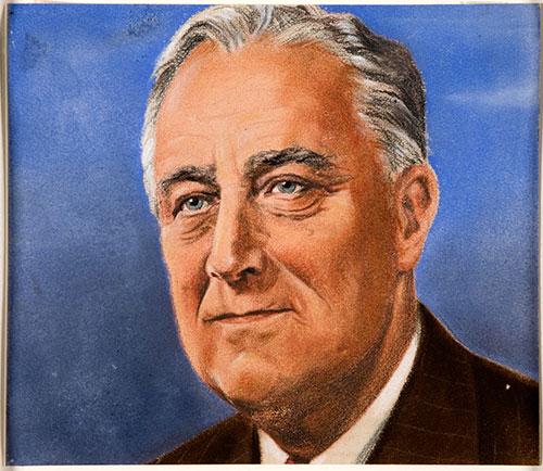 Franklin Roosevelt, 1939-1946. Catalogue ref: INF 3/75 pt 4