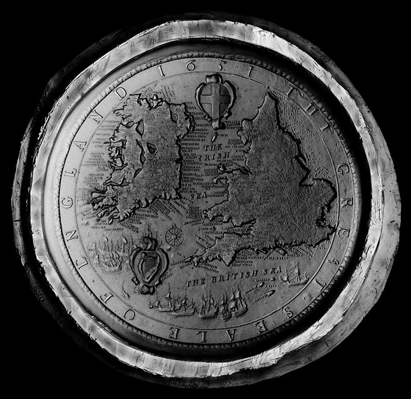 PRO 23/6157 Great seal of England and Wales