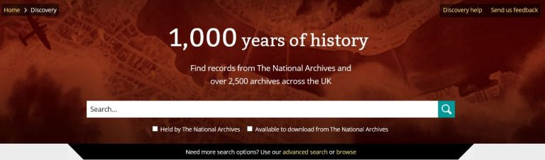Image of Discovery main search box