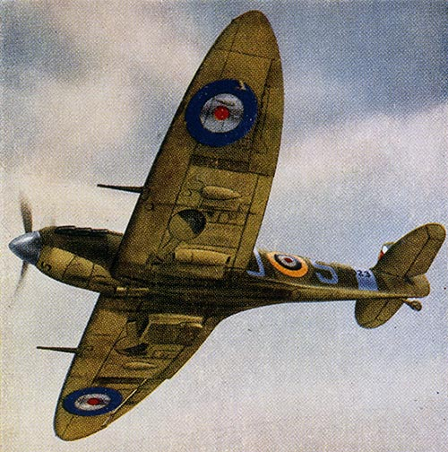 Supermarine Spitfire, catalogue reference INF 2/4
