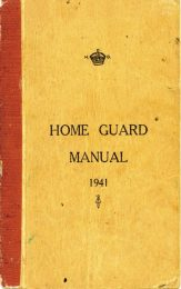 Cover of the Home Guard Manual 1941