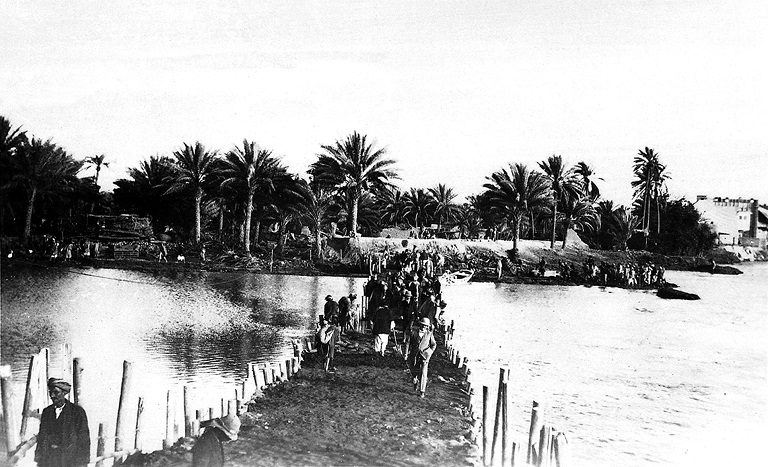 CO 733/94 The flooding of the River Tigres in 1926.