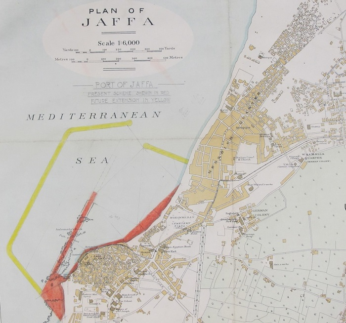Plan of Jaffa