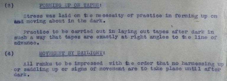 Notes from XXI Corps Commander's Conference, 10 September 1918 (catalogue reference: WO 158/623)