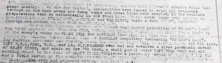 Extract from the War Diary of the 1st Battalion, British West Indies Regiment, 26 August 1918 (catalogue reference: WO 95/4732)
