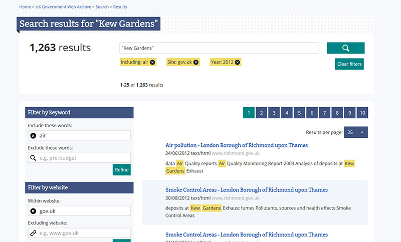 Search results for 'Kew Gardens'