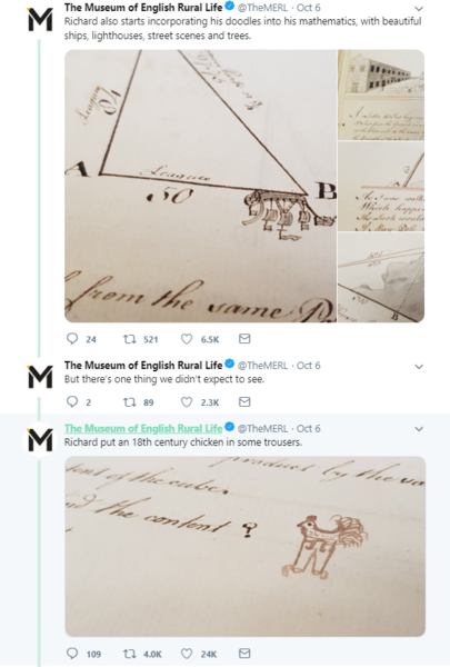 A screenshot of a Twitter thread