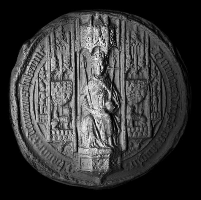 PRO 23/5855 – First Great Seal of Henry VIII (silicone rubber mould)