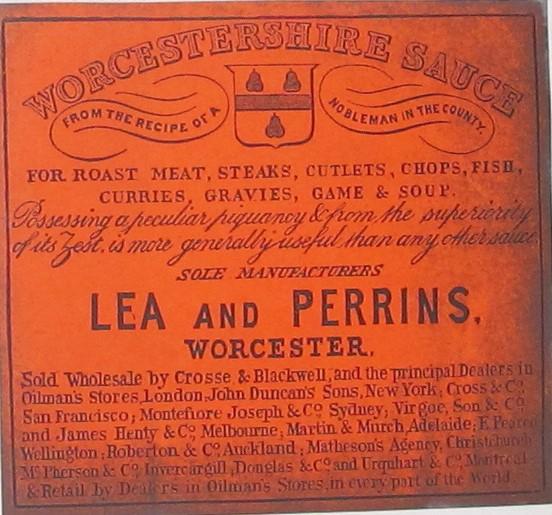 BT 82/1 (5), Lea & Perrins
