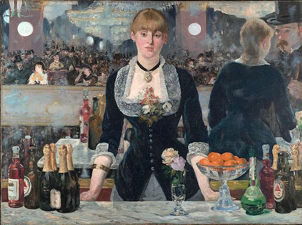 Edouard Manet: A Bar at the Folies-Bergere