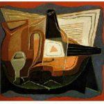 'Bouteille de Bass' by Juan Gris