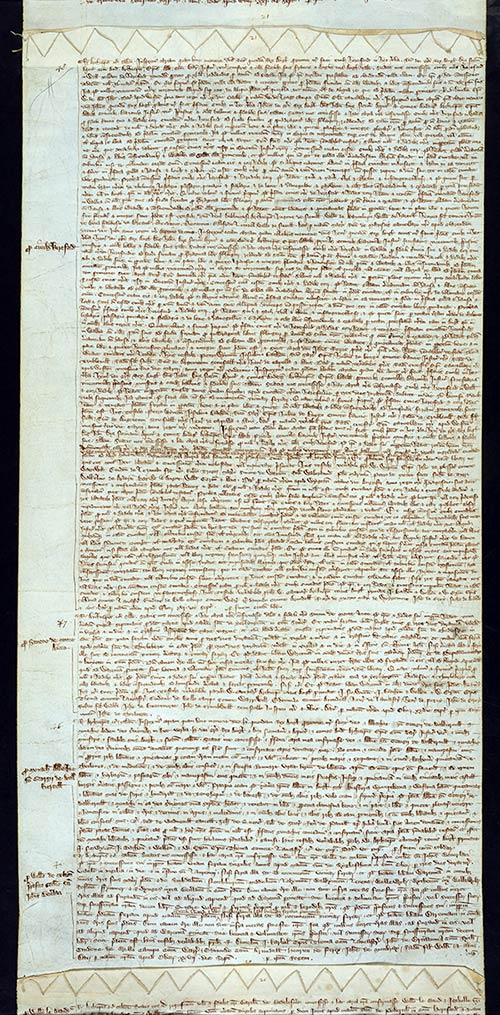 C 53/101 m21 Charter Rolls, July 1314-