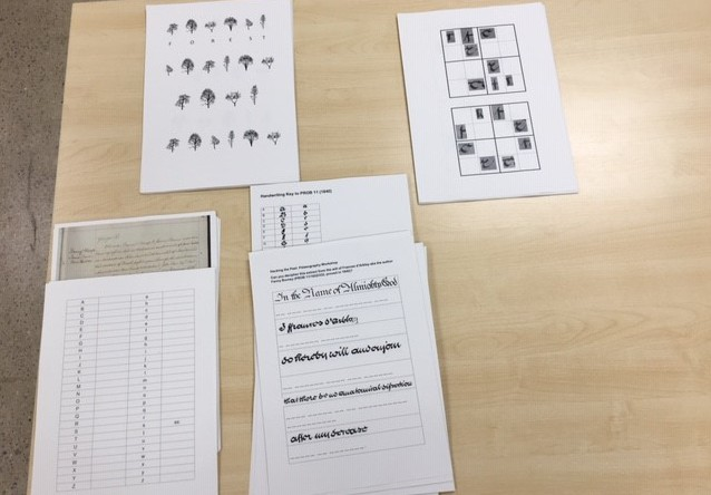 Palaeography exercises ready to go