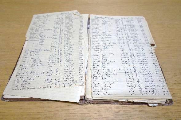 Handwritten notes on PRO 23