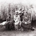 COPY 1/397 Mkuri chief and other figures East Africa, 1889