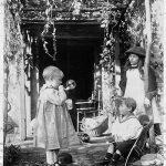 COPY 1/479 Children, one blowing bubble, 1904