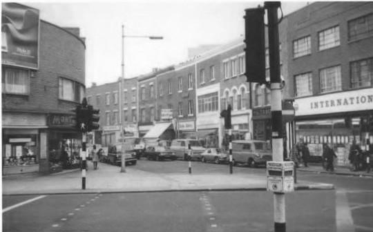 Battersea High Street, 1976.