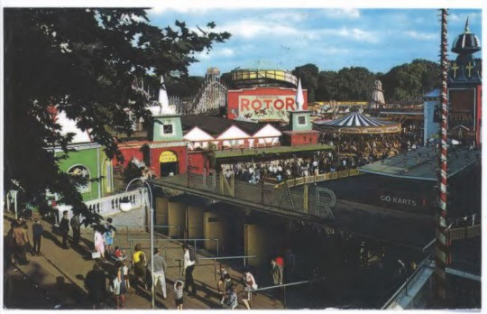 Battersea Park Funfair, 1960s. Battersea Heritage Service.