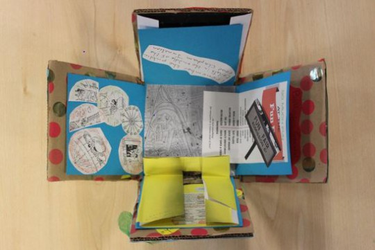 One of the memory boxes produced by the participants