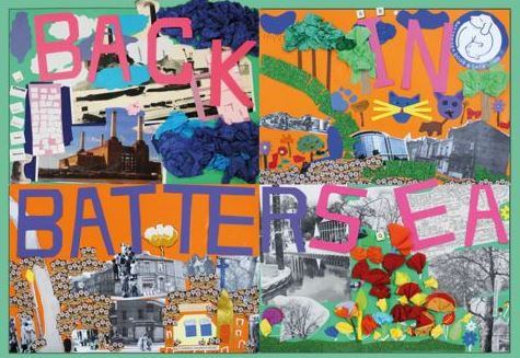 Collaborative collage made by the participants