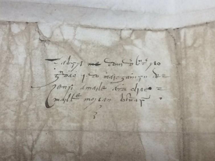 brian coghlan letter to mathew de renzi