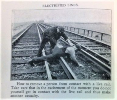 Prevention of Accidents to Staff Engaged in Railway Operation booklet ZLIB 15/45/1