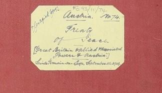 Austria: Treaty of Peace, also known as the Treaty of Saint-Germain-en-Laye, 10
