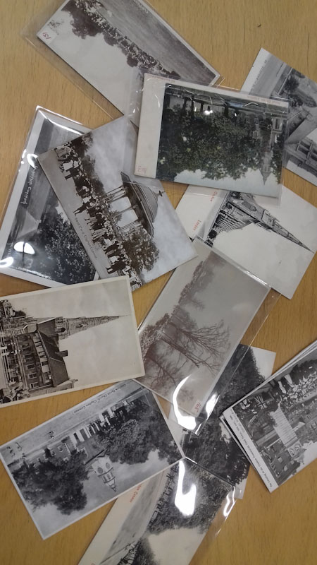 Examples of postcard from Wandsworth Heritage Centre