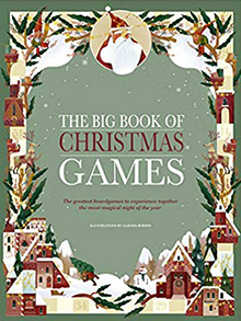 Front cover image of the Big Book of Christmas Games.