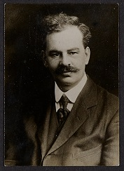 Image of a photograph of Alfred Walter Barrett, the proprietor of The Link.