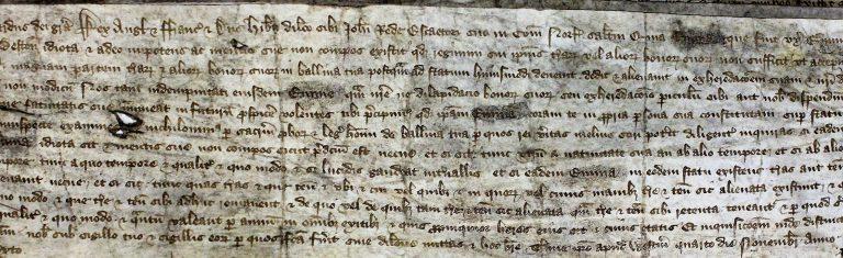 The king's writ of 4 November 1382