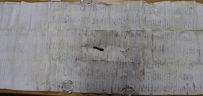 Petition from approx 350 Wine merchants and producers requesting lower duties on wine, c1830s; TNA Ref: T 1/3511