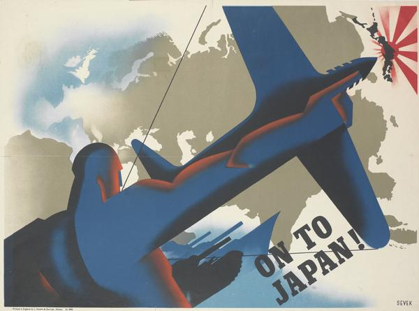 On to Japan! poster by Sevek.