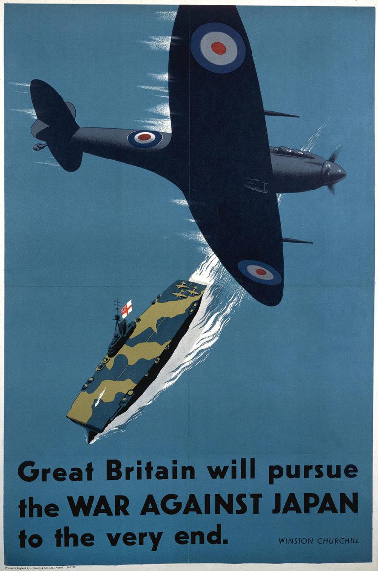World War II poster - The War Against Japan.