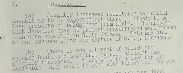 Memo raising concerns about potential suicide attacks.