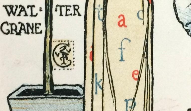 Walter Crane's signature.